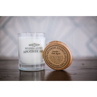 Hand-poured Lavender and Black Pepper Artisan Soy Candle