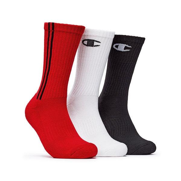 Champion Men's Dyed Crew Socks (Pack of 3) 18800009