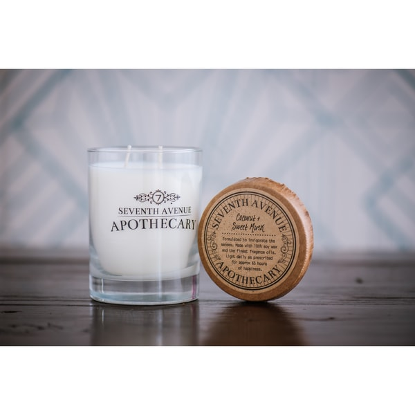 Hand-poured Cider and Mulled Spices Artisan Soy Candle