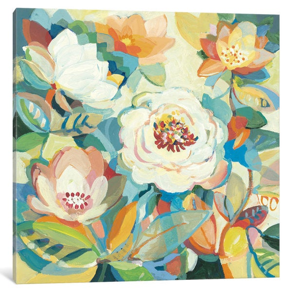 iCanvas White Garden IV by Dusty Knight Canvas Print 18800828