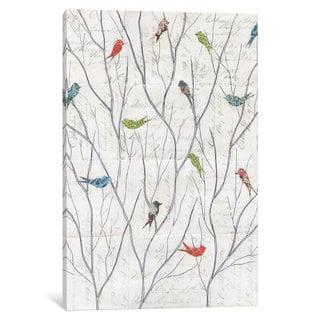 iCanvas Summer Birds Background I by Courtney Prahl Canvas Print