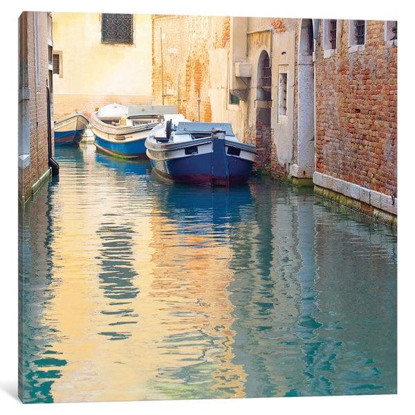 iCanvas Venice Canal by Brookview Studio Canvas Print