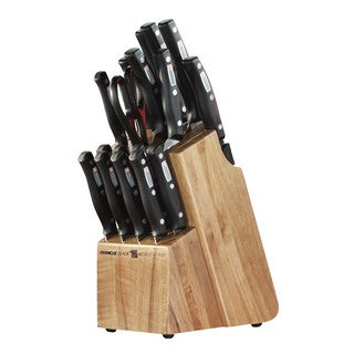 Miracle Blade World Class Series 18-piece Set with Knife Block