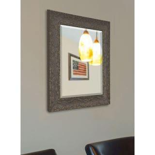 American Made Rayne Maclaren Brown Wall Mirror