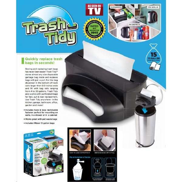 Trash Tidy Garbage Bag Dispenser