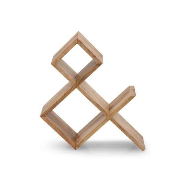 Banzara Heritage Brown Wood Rack