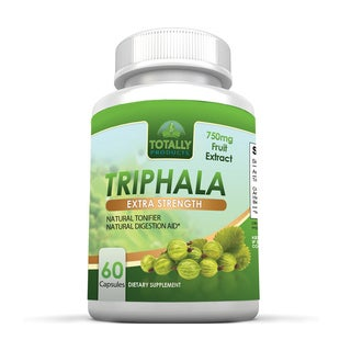 Triphala Pure Extract 750mg Natural Fat Detoxifier and Ayurvedic Plus (60 Capsules)