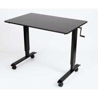 Luxor STANDCF48-BK/BO Crank-adjustable Stand-up Desk
