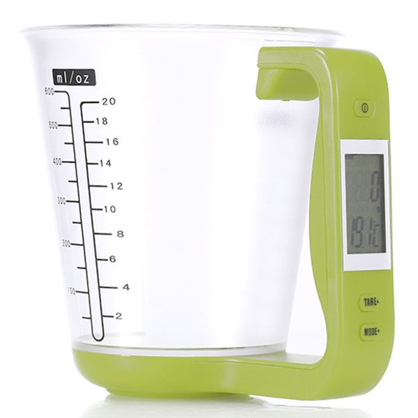 Plastic Combination Digital Scale and Measuring Cup 18803323