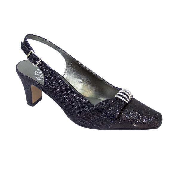 FIC FLORAL Emma Women's Extra Wide Dress Shoe