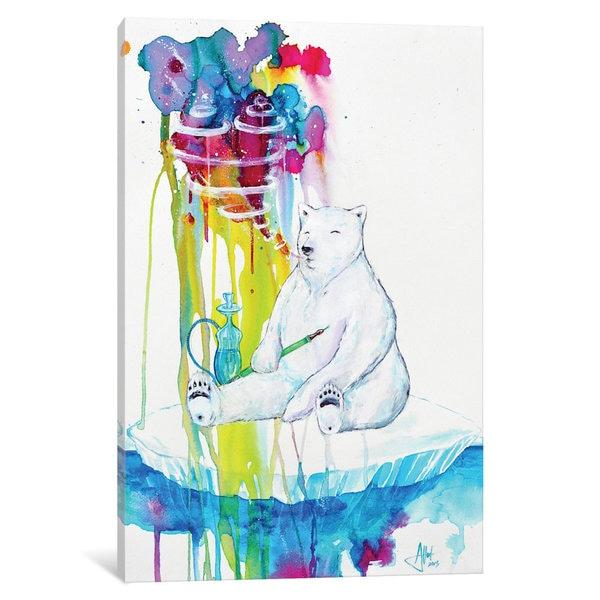 iCanvas Mint by Marc Allante Canvas Print
