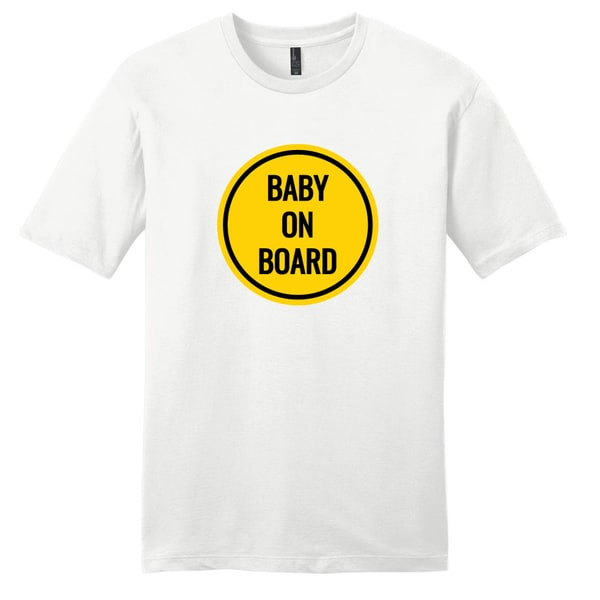 Baby on Board Shirt' Funny Pregnancy Cotton T-shirt
