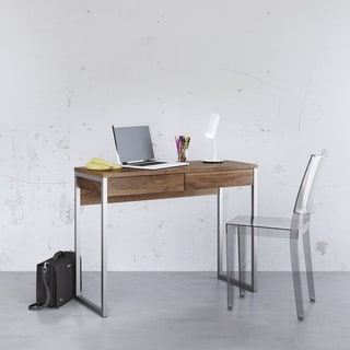 Tvilum Walker Natural Finish MDF 2-drawer Desk