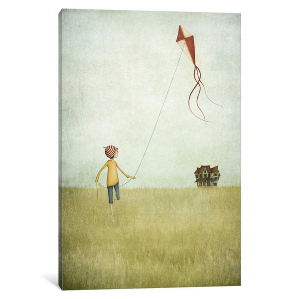 iCanvas Kite Runner by Majali Canvas Print