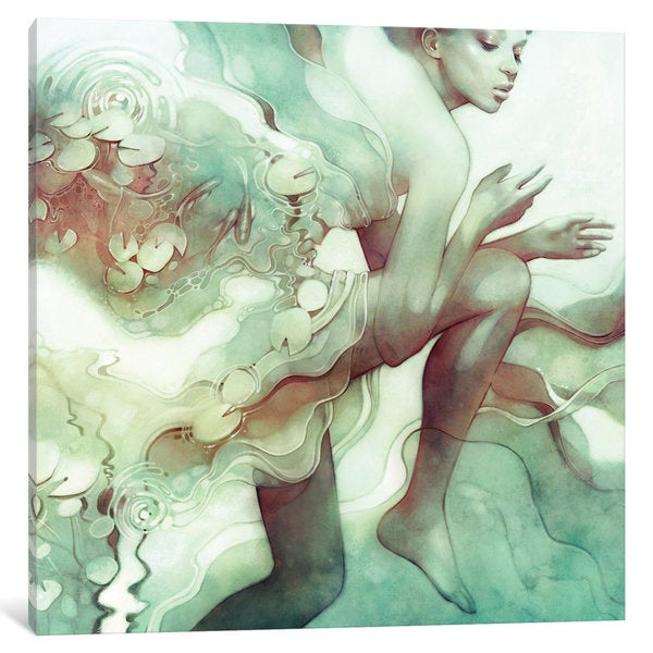 iCanvas Flood by Anna Dittmann Canvas Print