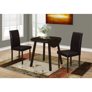 Monarch Cappuccino Veneer/Wood 36-inch Dining Table