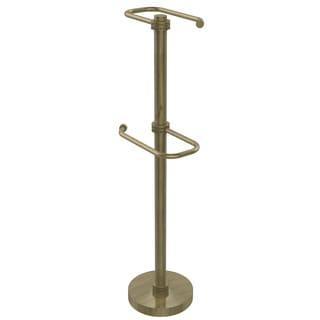 Allied Brass Freestanding 2-roll Toilet Tissue Stand