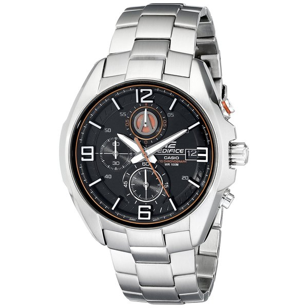Casio Men's EFR529D-1A9VCF Edifice Stainless Steel Bracelet Watch