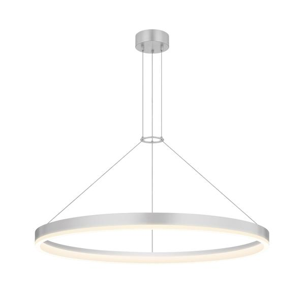 Contempo Lights Portofino White Aluminum Pendant Lamp