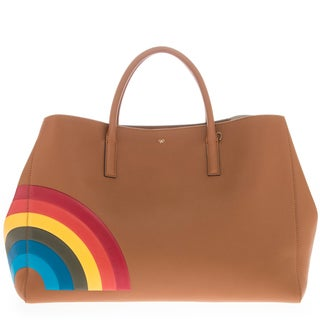 Anya Hindmarch Maxi Featherweight Ebury Leather Tote Bag