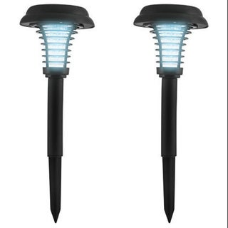 Sharper Image LED Solar Bug Zapper Set