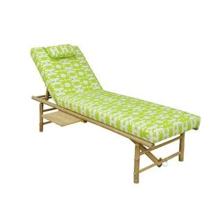 Zew Handcrafted Chaise with Extended Table