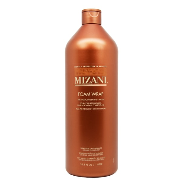 Mizani Foam Wrap 33-ounce Fast Drying Foam