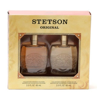 Coty Stetson Men's Woody Cologne (Set of 2)