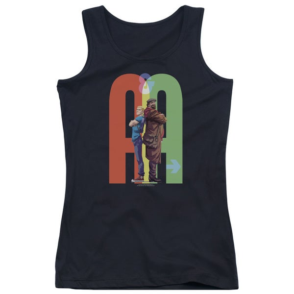 Archer & Armstrong/Back To Bak Juniors Tank Top in Black