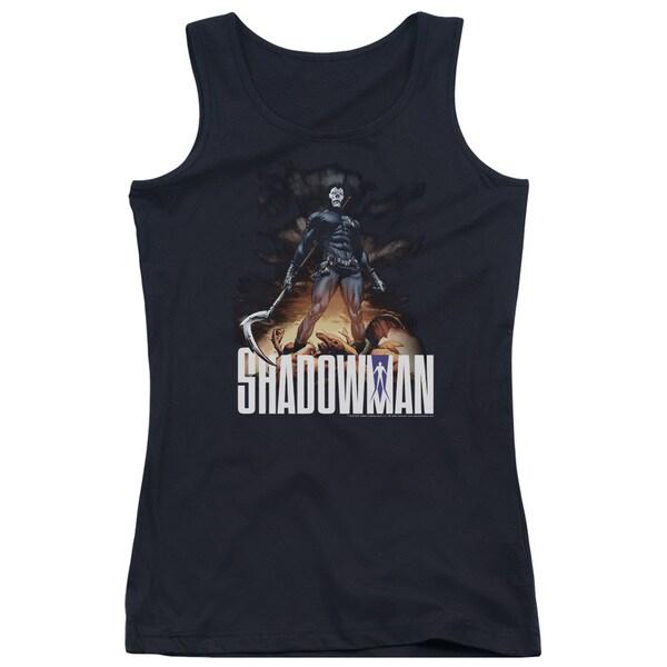 Shadowman/Shadow Victory Juniors Tank Top in Black