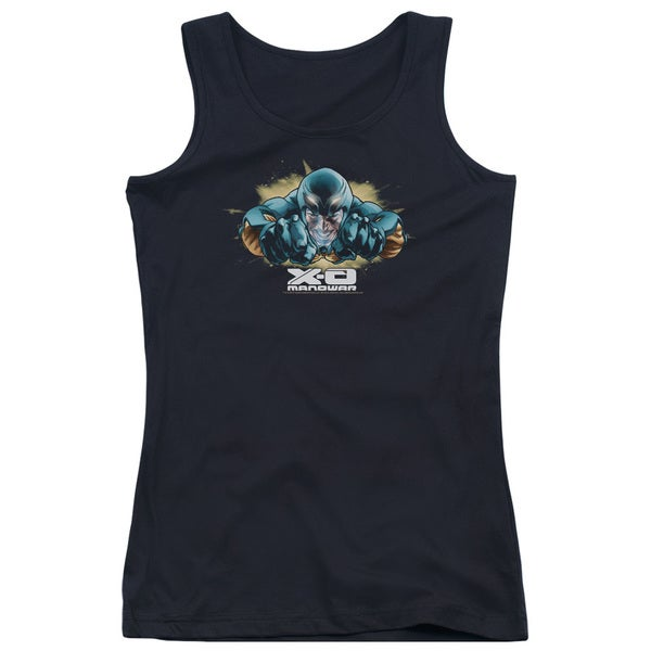Xo Manowar/Xo Fly Juniors Tank Top in Black