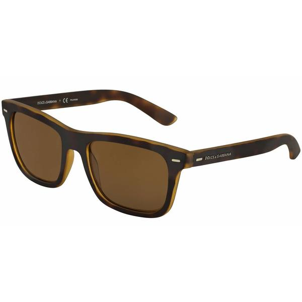 Dolce & Gabbana DG 6095 2899/83 - Top Yellow/Havana Rubber Polarized 18810059