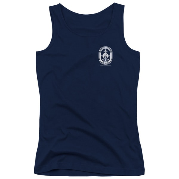 Last Ship/Port Juniors Tank Top in Navy
