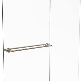 Allied Brass Waverly Place Collection Brass 30-inch Back to Back Shower Door Towel Bar