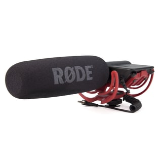 Rode Videomic Shotgun Microphone with Rycote Lyre Mount