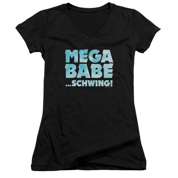 SNL/Mega Babe Junior V-Neck in Black