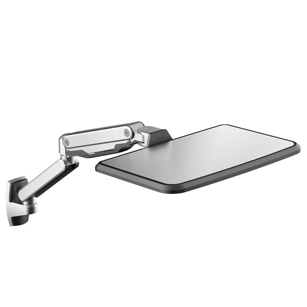Loctek WS2L Sit Stand Workstation, Height Adjustment, Ergonomic Laptop Wall Mount Arm for 10-inch to 17-inch MacBook Air