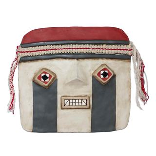 Handcrafted Recycled Paper 'Tiahuanaco' Mask (Peru)