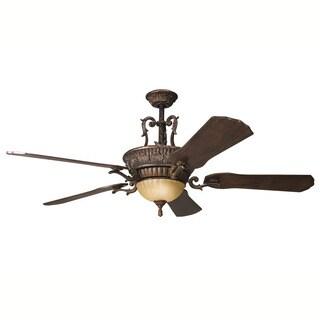 Kichler Lighting Kimberley Collection 60-inch Berkshire Bronze Ceiling Fan w/Light