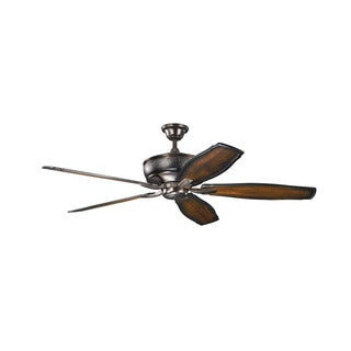 Kichler Lighting Monarch Collection 70-inch Oil Brushed Bronze Ceiling Fan