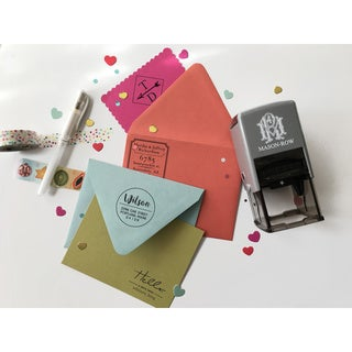 Mason Row Personalized Self-inking Stamp