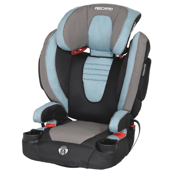 RECARO 'Marine' Blue Performance Booster