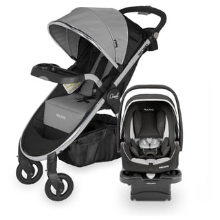 RECARO Performance Denali Luxury Granite Travel System