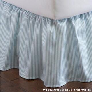 Striped Bedskirt