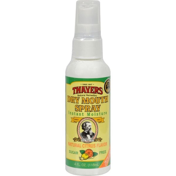 Thayers Dry Mouth 4-ounce Sugar-free Citrus Spray