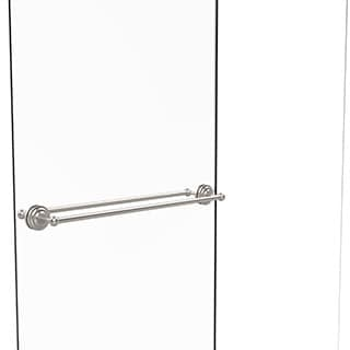 Allied Brass Que New Collection 30-inch Back-to-back Shower Door Towel Bar