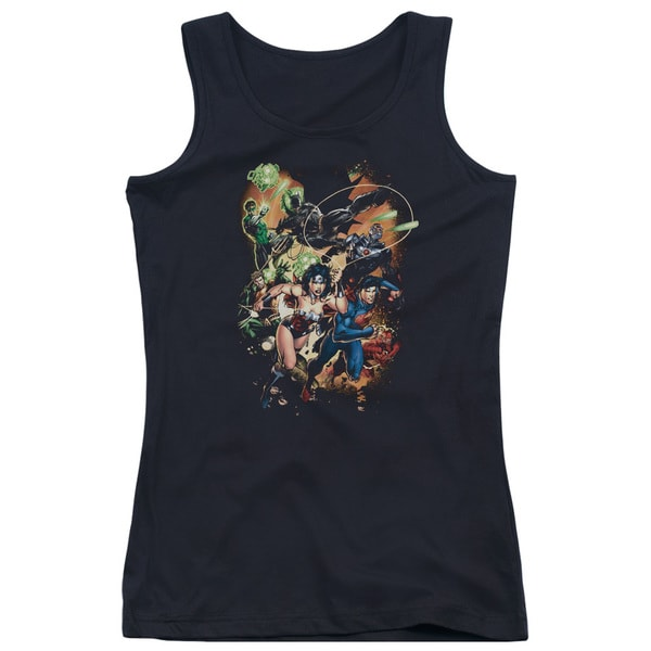 JLA/Battle Ready Juniors Tank Top in Black