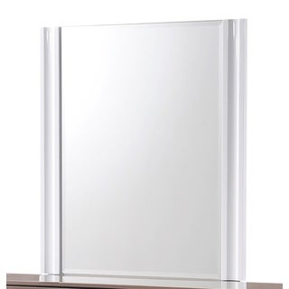 Global High-gloss White Mirror