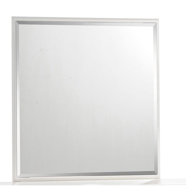 Global Cream Square Mirror