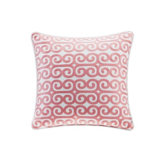 Echo Design Madira Ivory Cotton Square Pillow